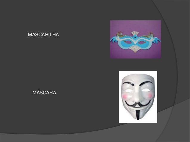 MASCARILHA M�SCARA