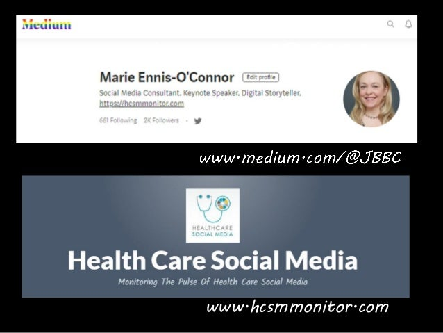 Social Media In Healthcare How To Communicate With Impact #MASCC19 Slide 3