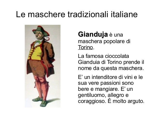 20 maschere tradizionali italiane di carnevale for Pianetabambini it maschere di carnevale