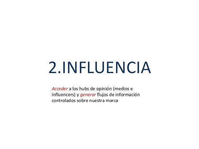 • Participación vs influencia • Medios y desintermediación. Cambio de paradigma: Nuevos flujos de información • El mismo t...
