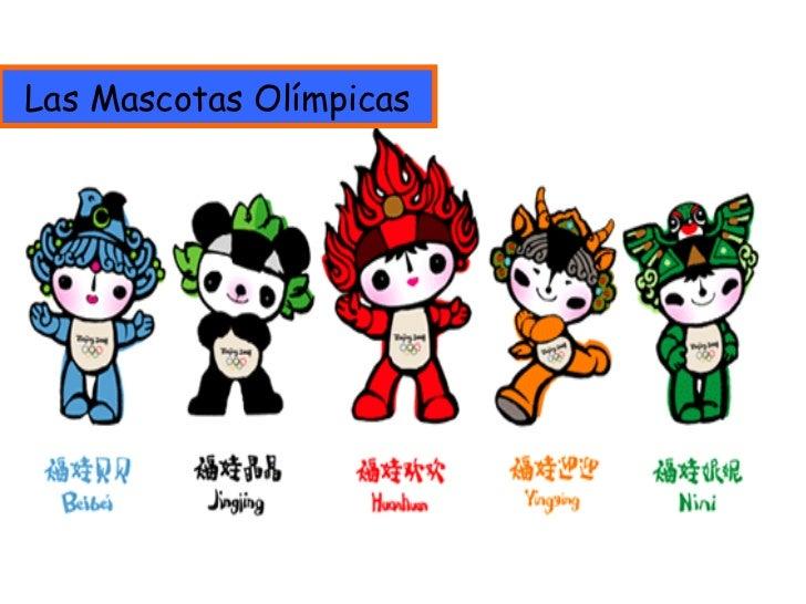 Las Mascotas Olímpicas