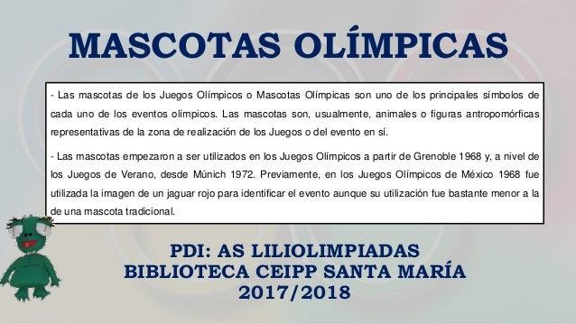 Mascotas Olimpicas