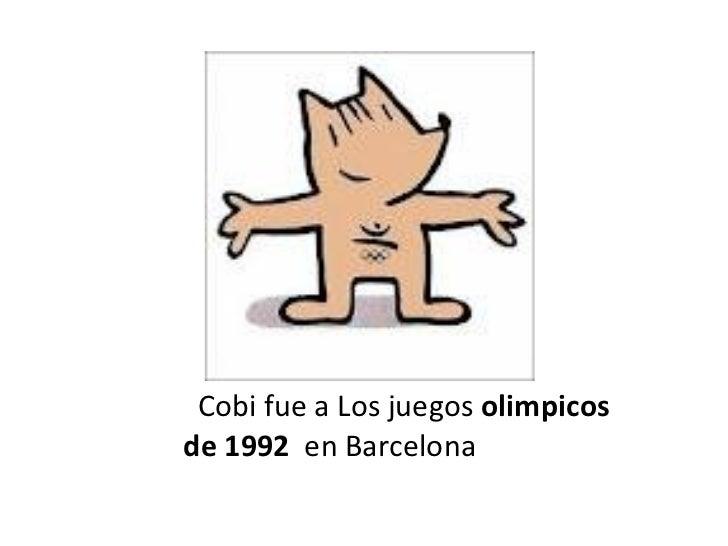 Mascotas De Juegos Olimpicos