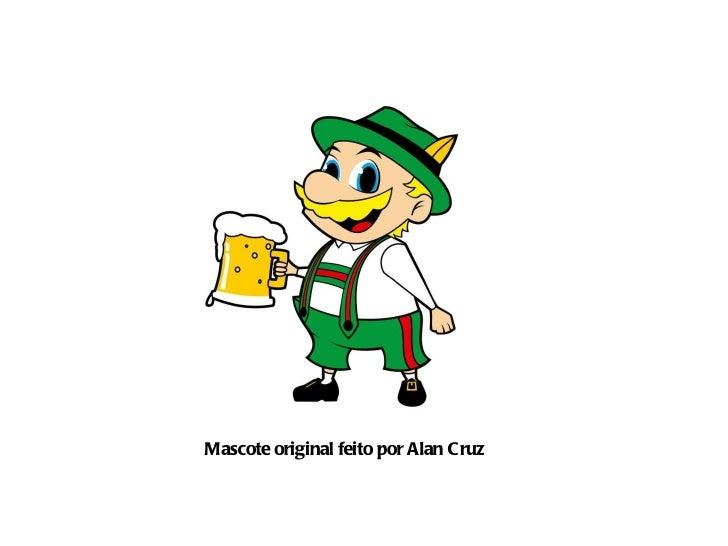 Mascote original feito por Alan Cruz