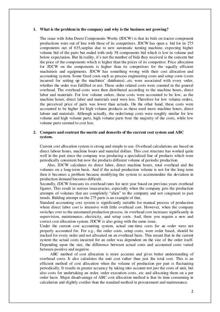 john deere case analysis Free essays regarding john deere case study for download 1 - 25.