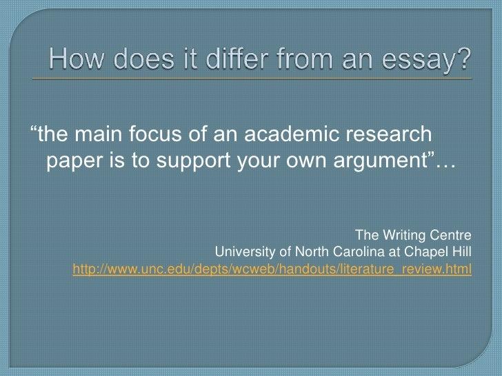 Www unc edu depts wcweb handouts thesis html