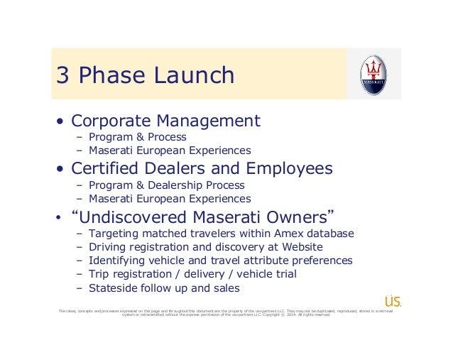 Maserati european delivery