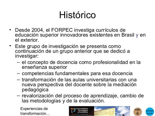 Masetto formación de profesores y paradigmas curriculares innovadores Slide 2