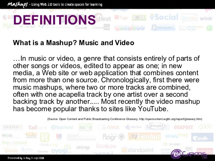 HOW TO: MASHUP – FACEBOOK