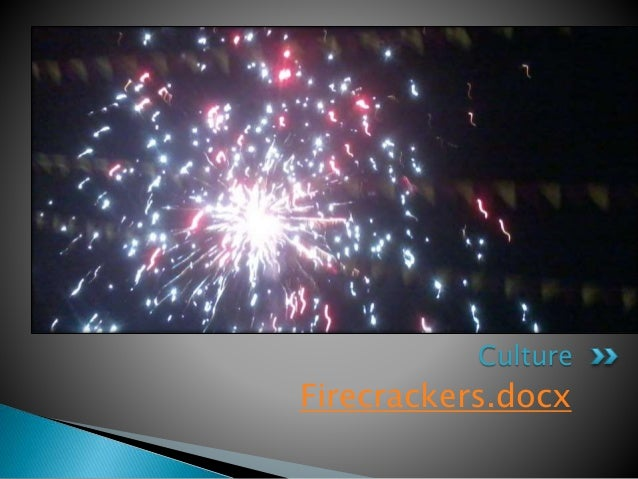 disadvantages of bursting crackers