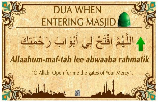 Masjid postersize duas