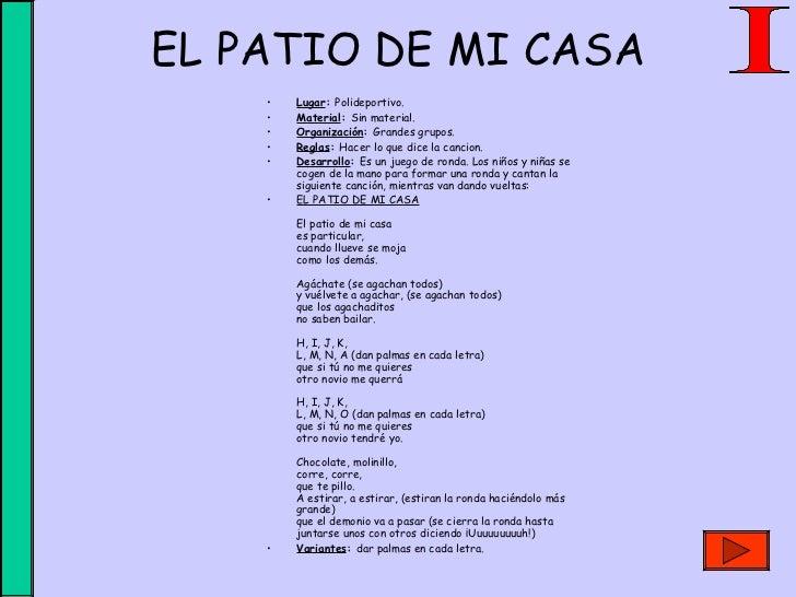 Educacion Fisica Juegos Y Canciones