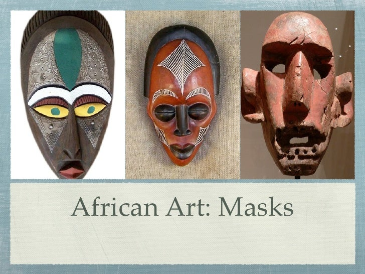 African Art: Masks