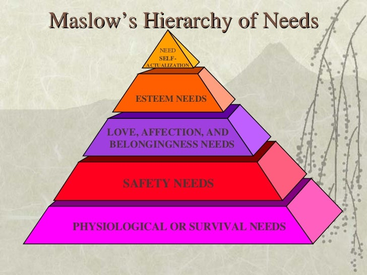 analysis of maslow hierarchy of needs Amazoncom: maslow's hierarchy of needs interesting finds updated daily amazon try prime all maslows hierarchy of needs - new classroom science poster the farther reaches of human nature oct 1, 1993 by abraham h maslow and bertha g maslow.