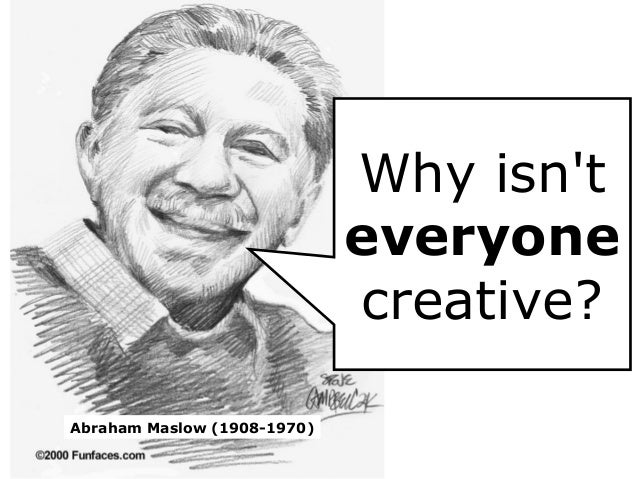 Abraham Maslow on creativity