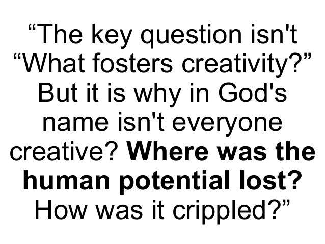 Abraham Maslow on creativity
