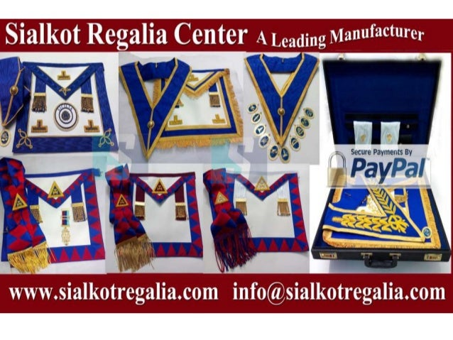 Masonic Craft Grand rank Aprons & collars