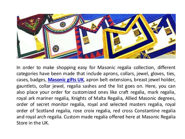 Masonic Gifts UK
