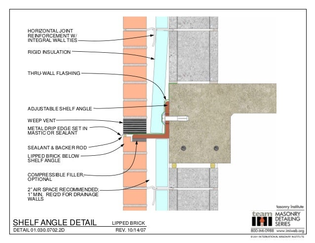 Masonry Detailing Series V 3 4