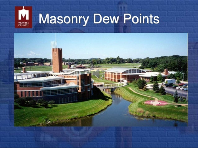 Masonry Dew Points