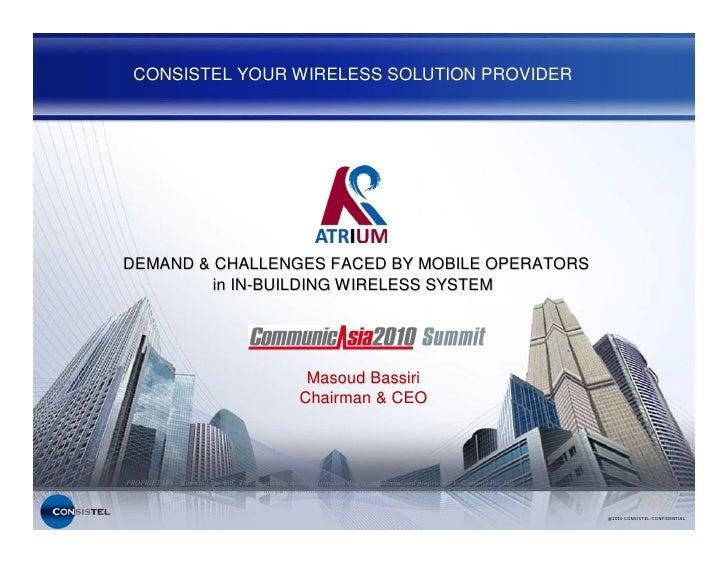 CONSISTEL YOUR WIRELESS SOLUTION PROVIDER                                                                         DEMAND &...