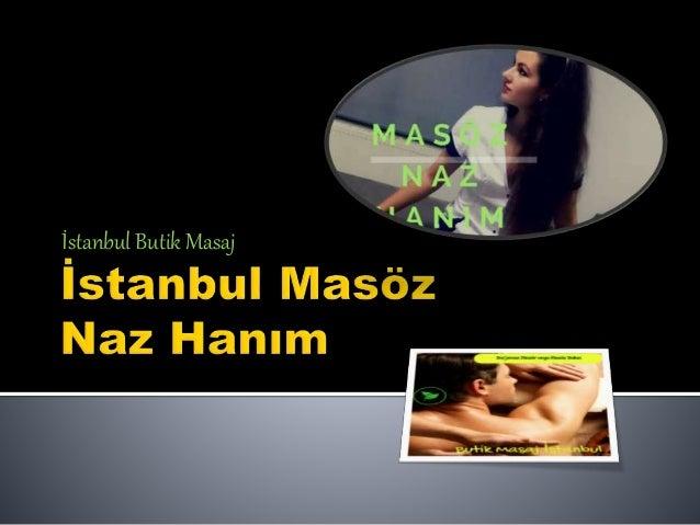 İstanbul Butik Masaj