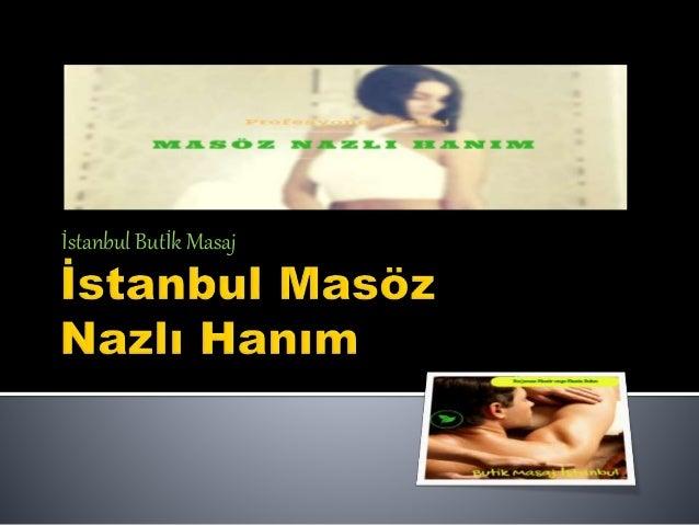 İstanbul Butİk Masaj