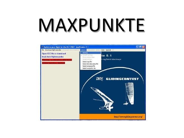 MAXPUNKTE<br />