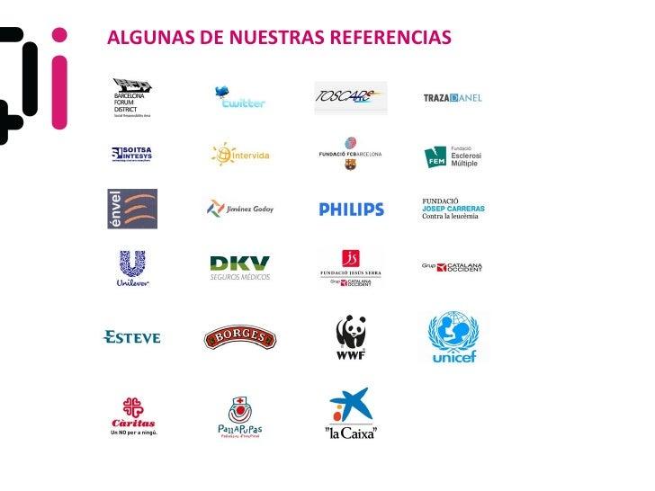 ALGUNAS DE NUESTRAS REFERENCIAS