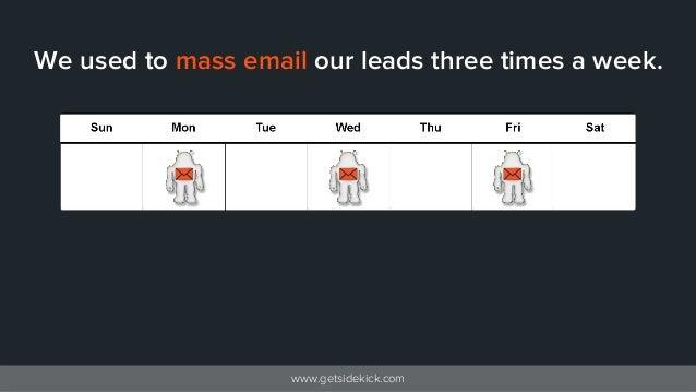 Mass Email Marketing Doesn't Work: Modern Prospecting Emails That Do, Inside Slide 2