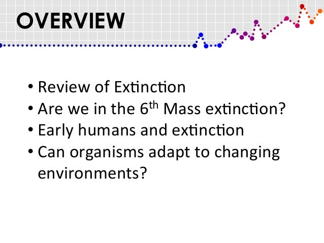 The Sixth Mass Extinction Is Upon Us. Can Humans Survive?