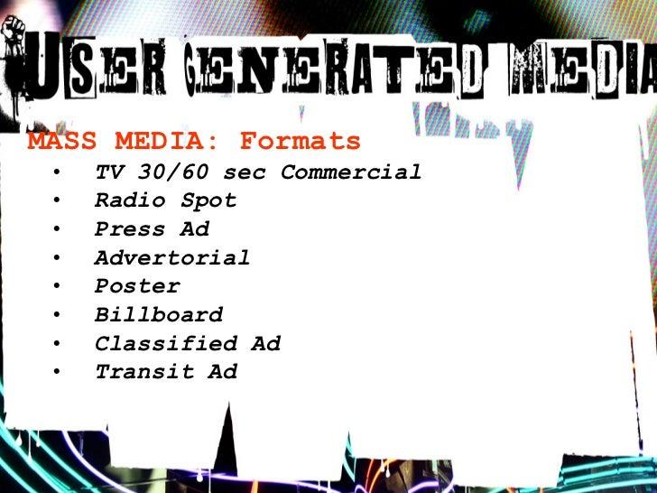 USER-GENERATED MEDIA: Aesthetic  •   Raw  •   Handmade  •   Self-Deprecating  •   Open-Ended