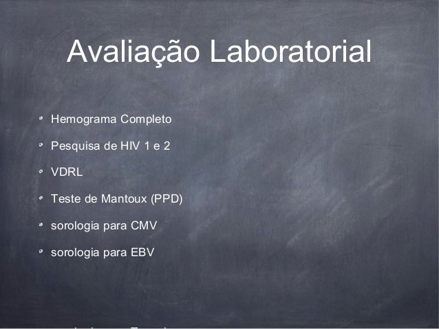 Ppd exame laboratorial