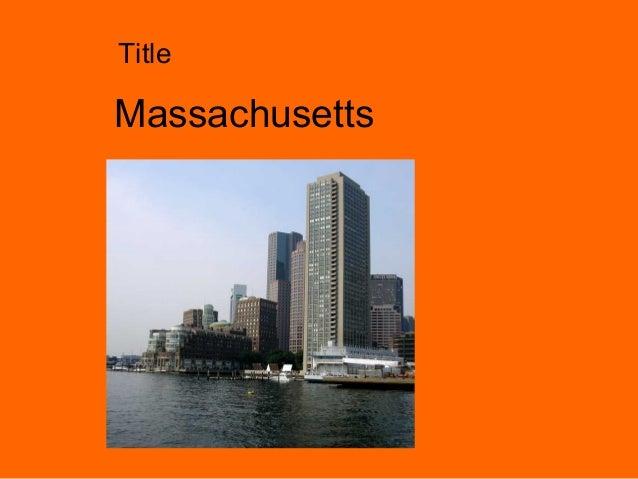 Massachusetts Title