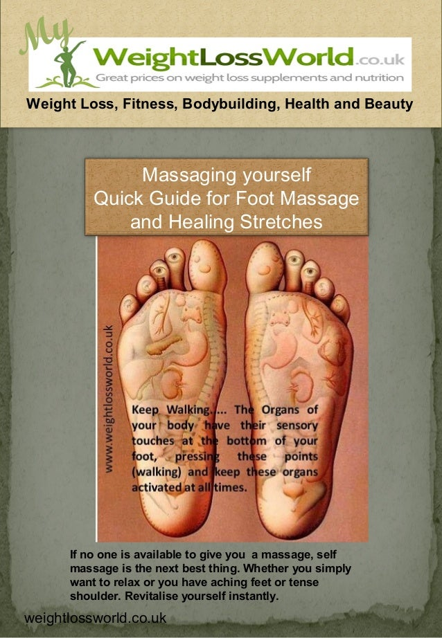 MyWeight Loss, Fitness, Bodybuilding, Health and Beauty               Massaging yourself          Quick Guide for Foot Mas...