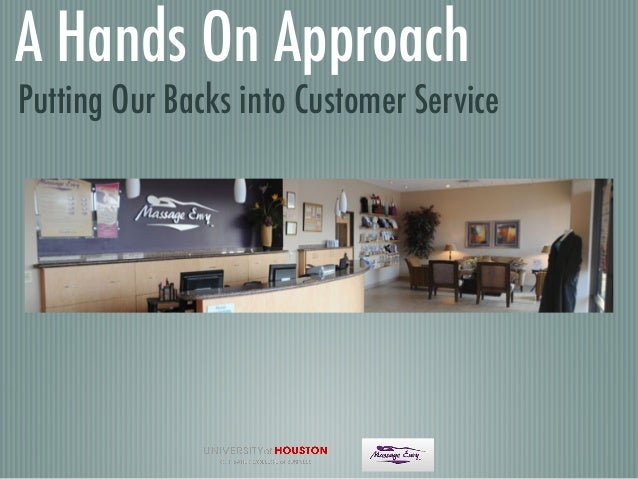 A Hands On Approach Putting Our Backs into Customer Service