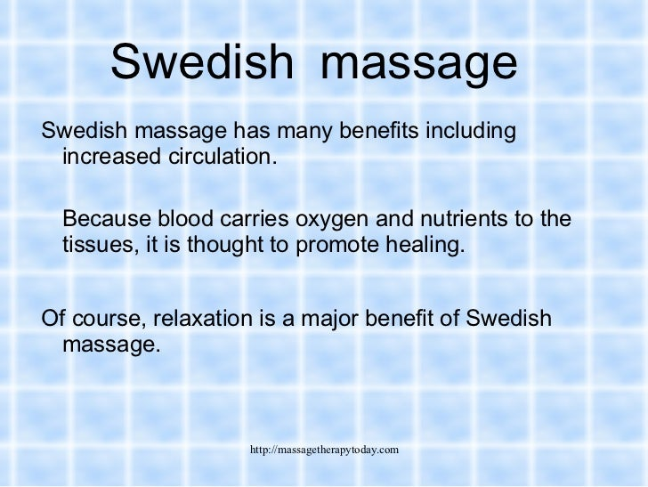 Massage Therapy Today