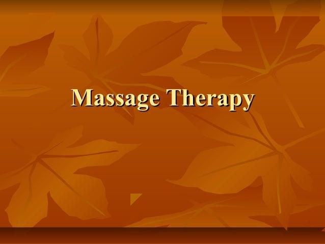 Massage TherapyMassage Therapy
