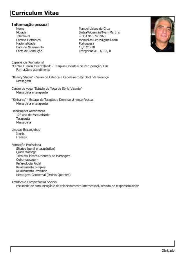 Curriculum Pronto Maco Ibaldo Co