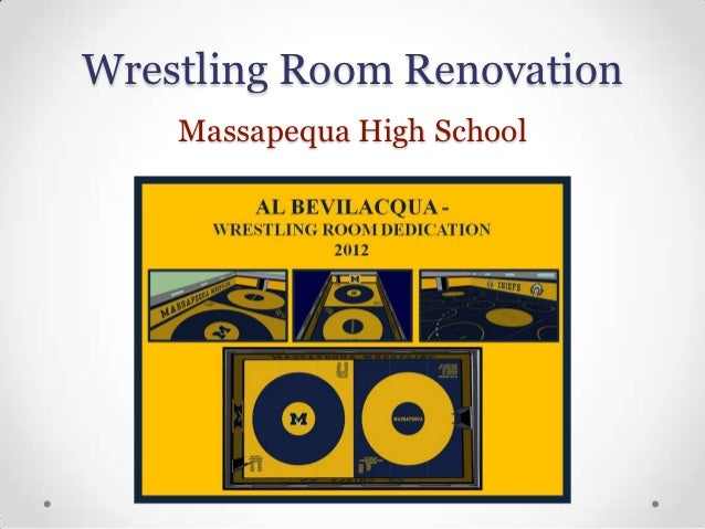 Wrestling Room Renovation    Massapequa High School