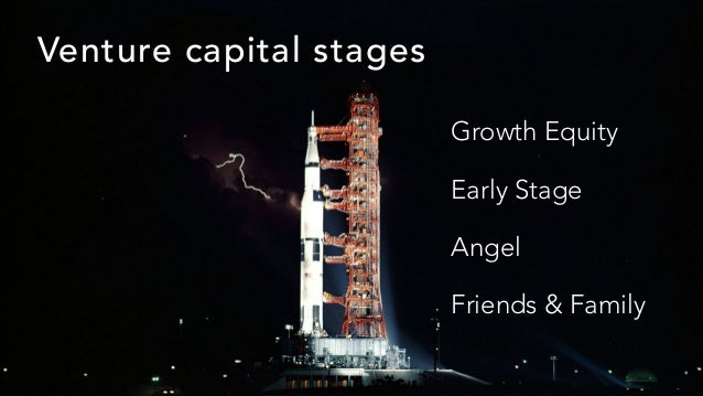 Venture capital stages Growth Equity Early Stage Angel Friends & Family