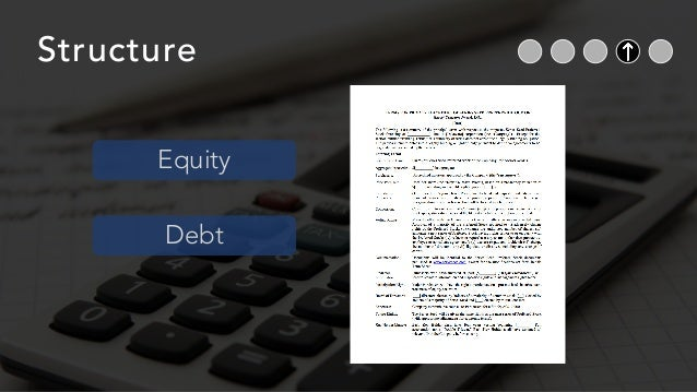 Structure Equity Debt