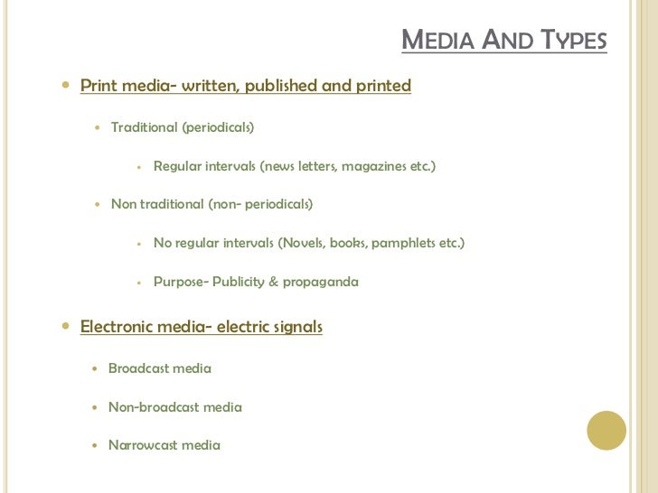 print and electronic media essay Media essay print media electronic and internet 9948 stars – based on 43 reviews posted in print media and electronic media essay internet leave a comment cancel reply comment name (required) email (will not be published) (required) website find us address 123 main street.