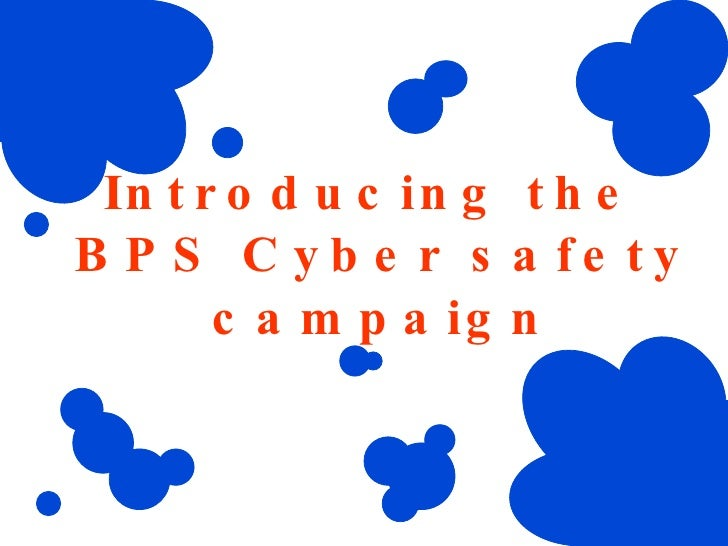 Introducing the  BPS Cyber safety campaign