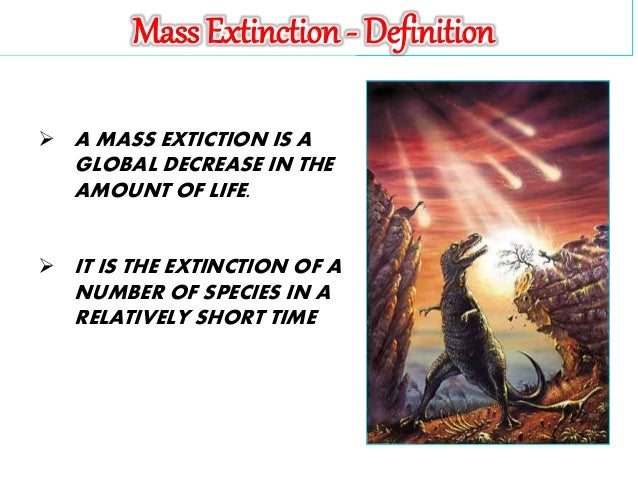 The 5 Major Mass Extinctions ...