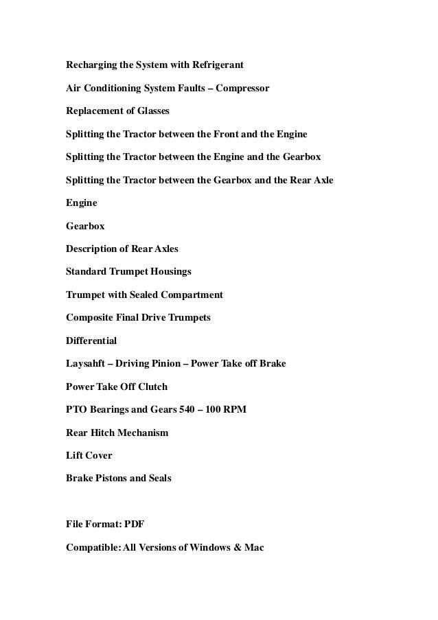 Massey ferguson mf3610 mf3630 mf3635 mf3645 mf3650 mf3655 mf3660 mf3670 mf3680 mf3690 tractors service repair workshop manual download Slide 3