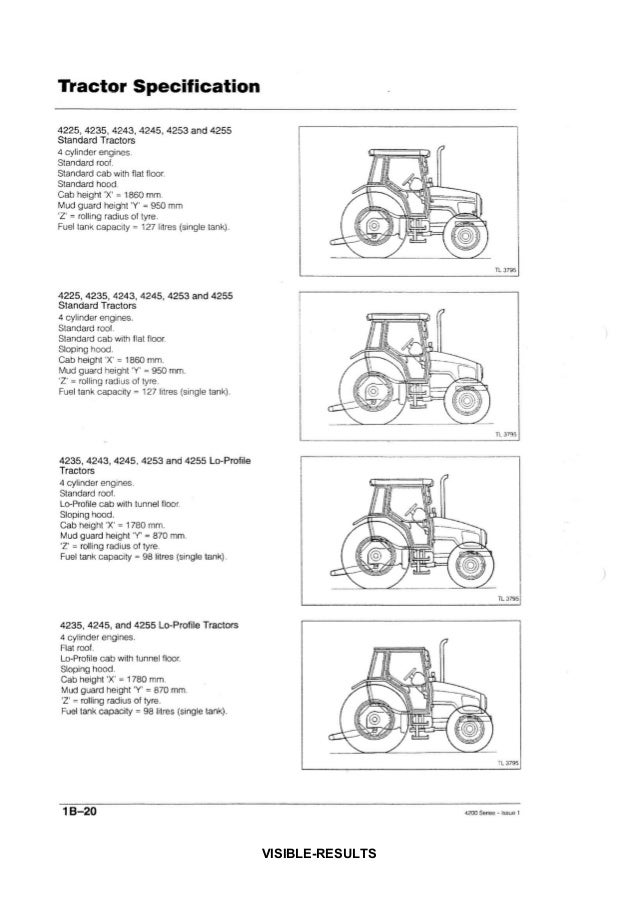 Massey ferguson mf 4235 tractor service repair manual