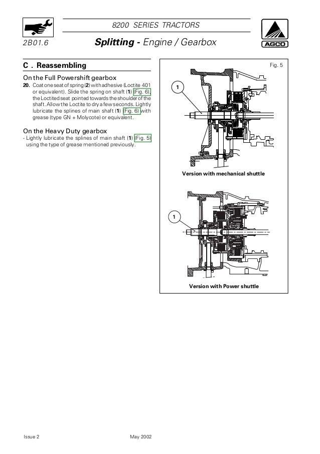 Massey ferguson mf 8210 tractor service repair manual