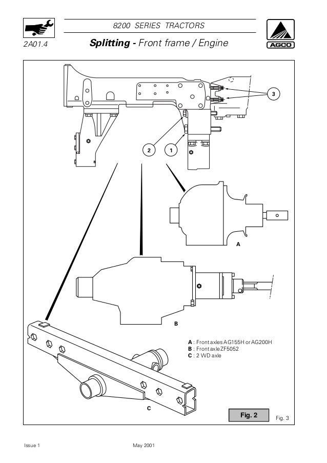 massey ferguson mf 8220 tractor service repair manual rh slideshare net LED Light Bar Wiring LED Light Bar Wiring