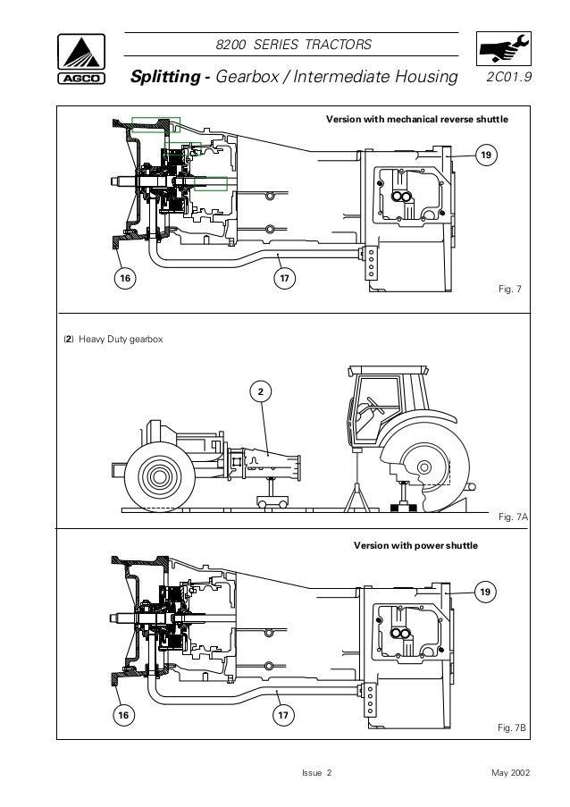Massey ferguson mf 8260 tractor service repair manual